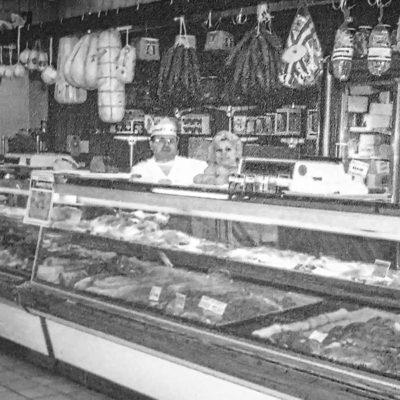 fort myers local butcher - meat case
