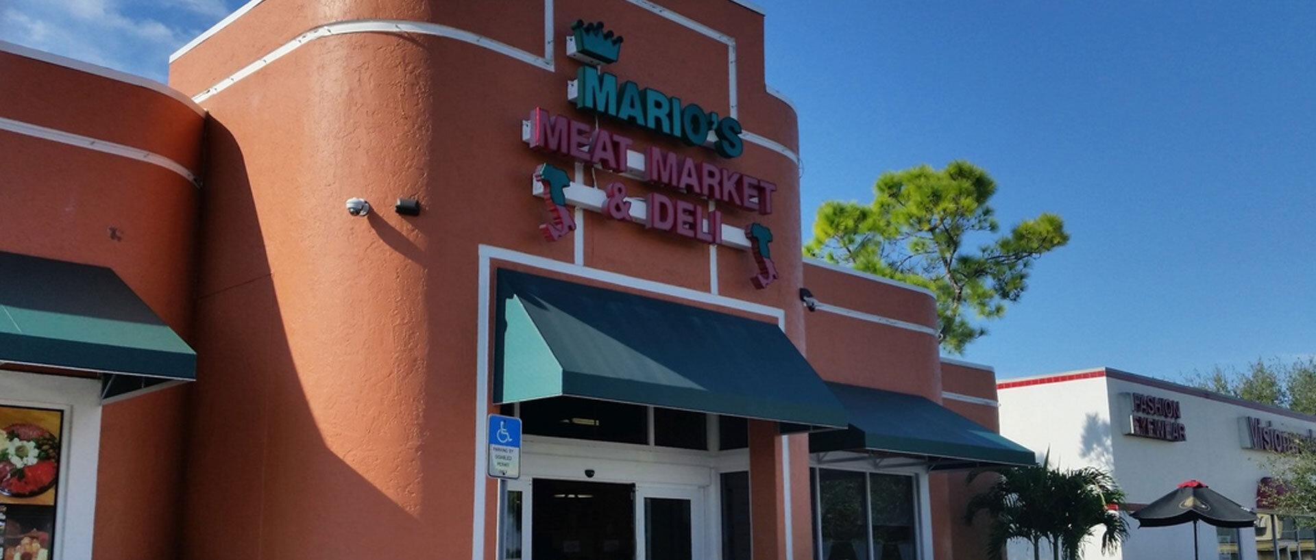Marios Meat Market and Deli - Location