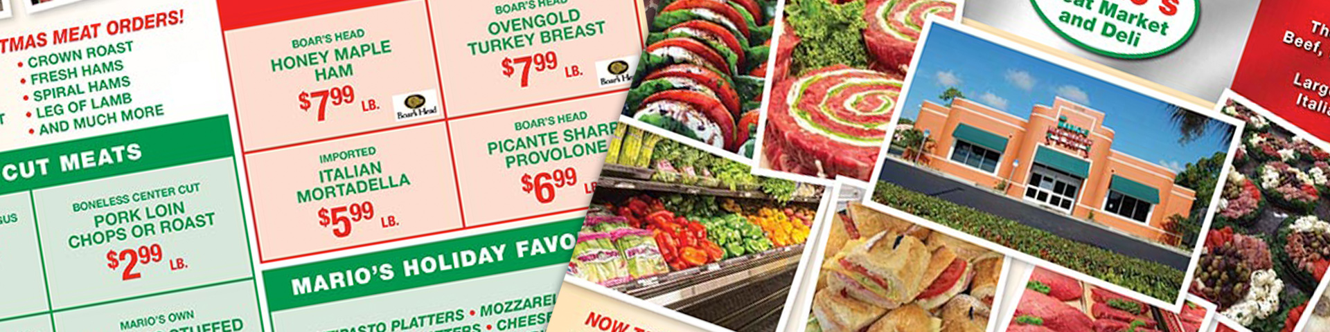 Weekly Ad Specials Fort Myers | Marios Meat Market and Deli