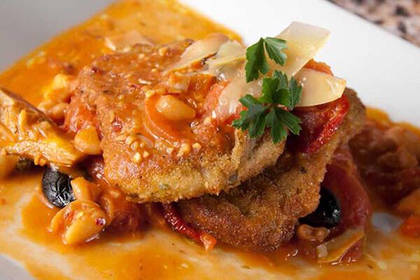 Sicilian Pork Milanese - Mario's Meat Market Weekly Recipe