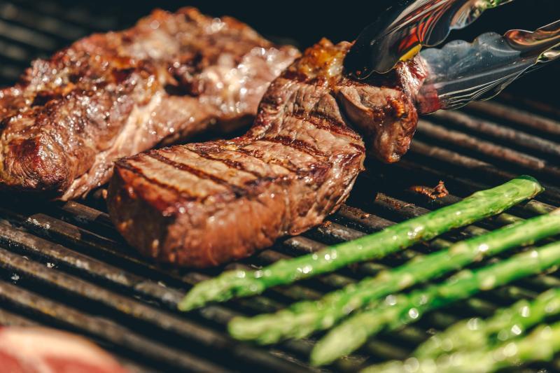 Marios-Italian-Deli-Grilled-New-York-Strip-Steak-Asparagus