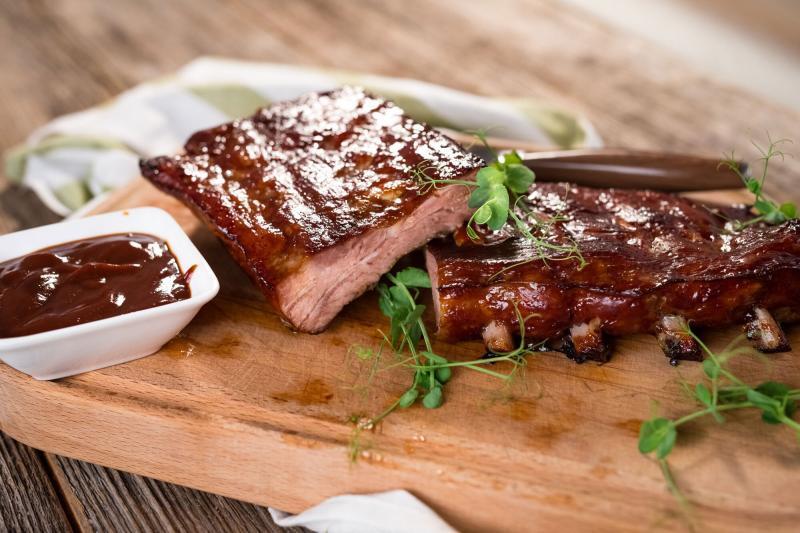 Marios-Italian-Deli- Roasted BBQ Pork Ribs