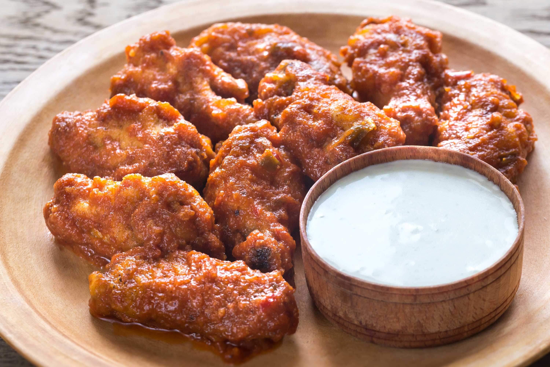 Marios-Italian-Deli Baked Buffalo Chicken Wings
