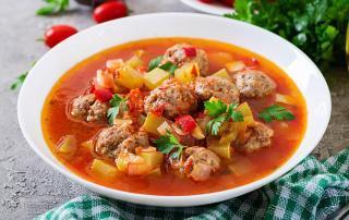 Mario's Italian Deli - Meatball Vegetable Stew