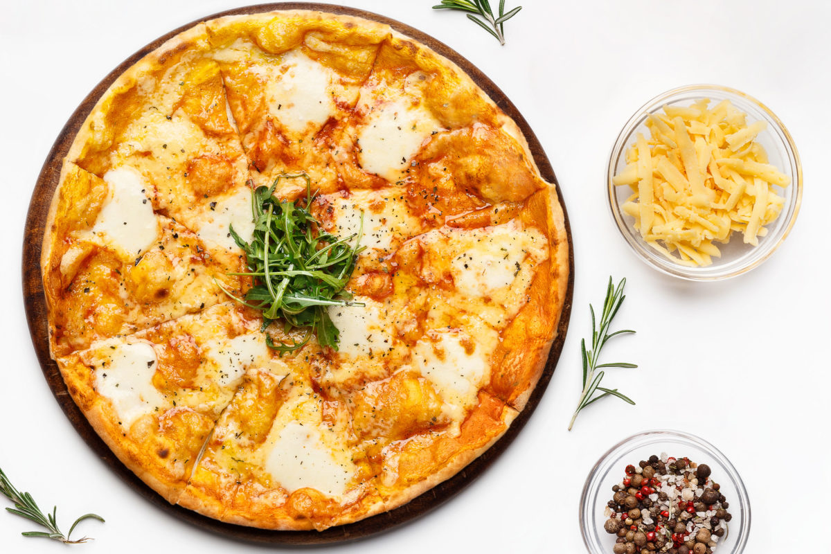 Marios Italian Deli - White Pizza