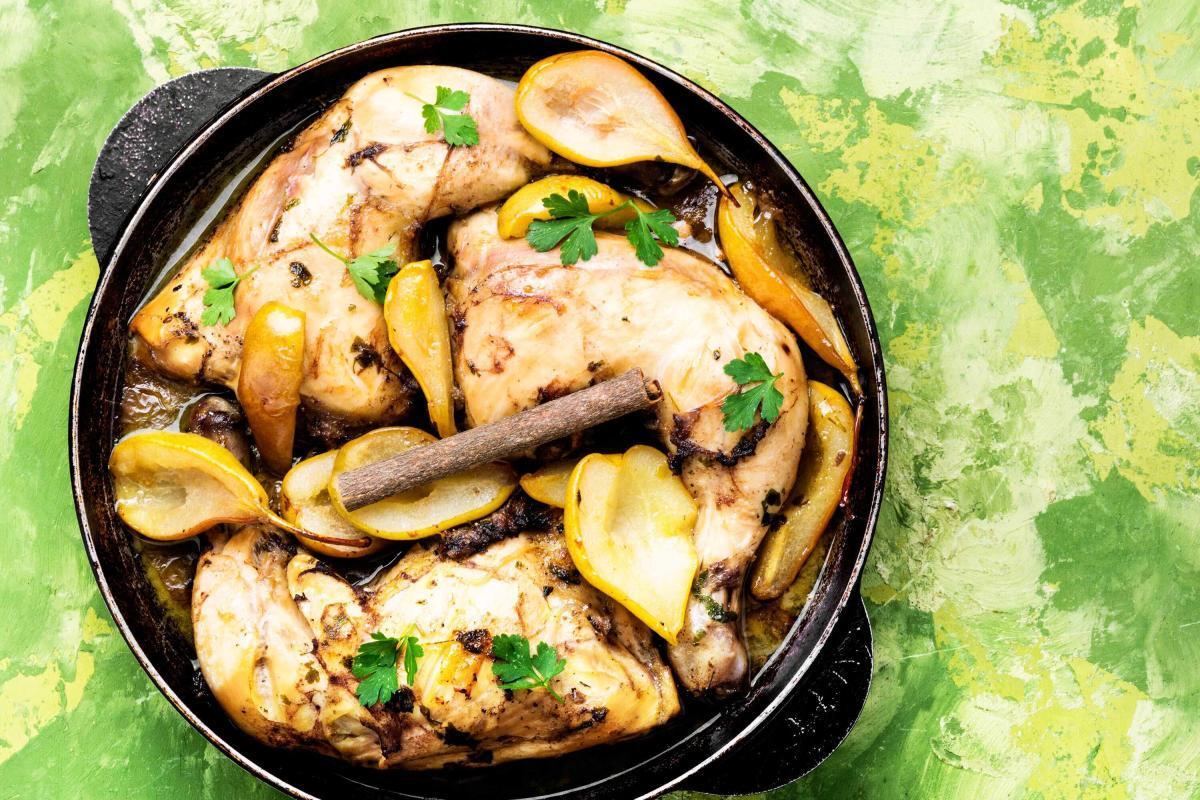 Marios Italian Deli - Balsamic Baked Chicken & Pears