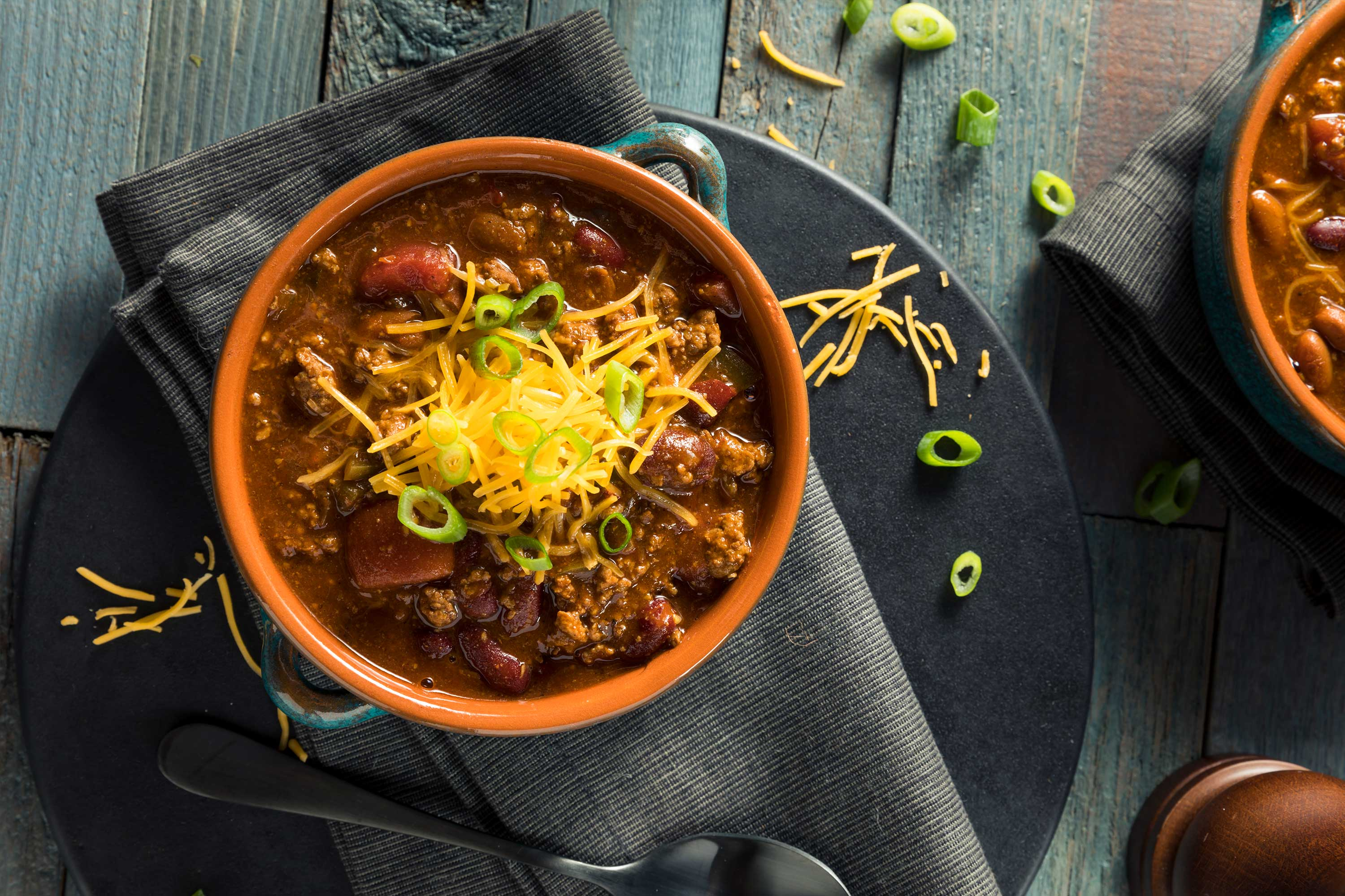 Marios Italian Deli | Hearty Chili