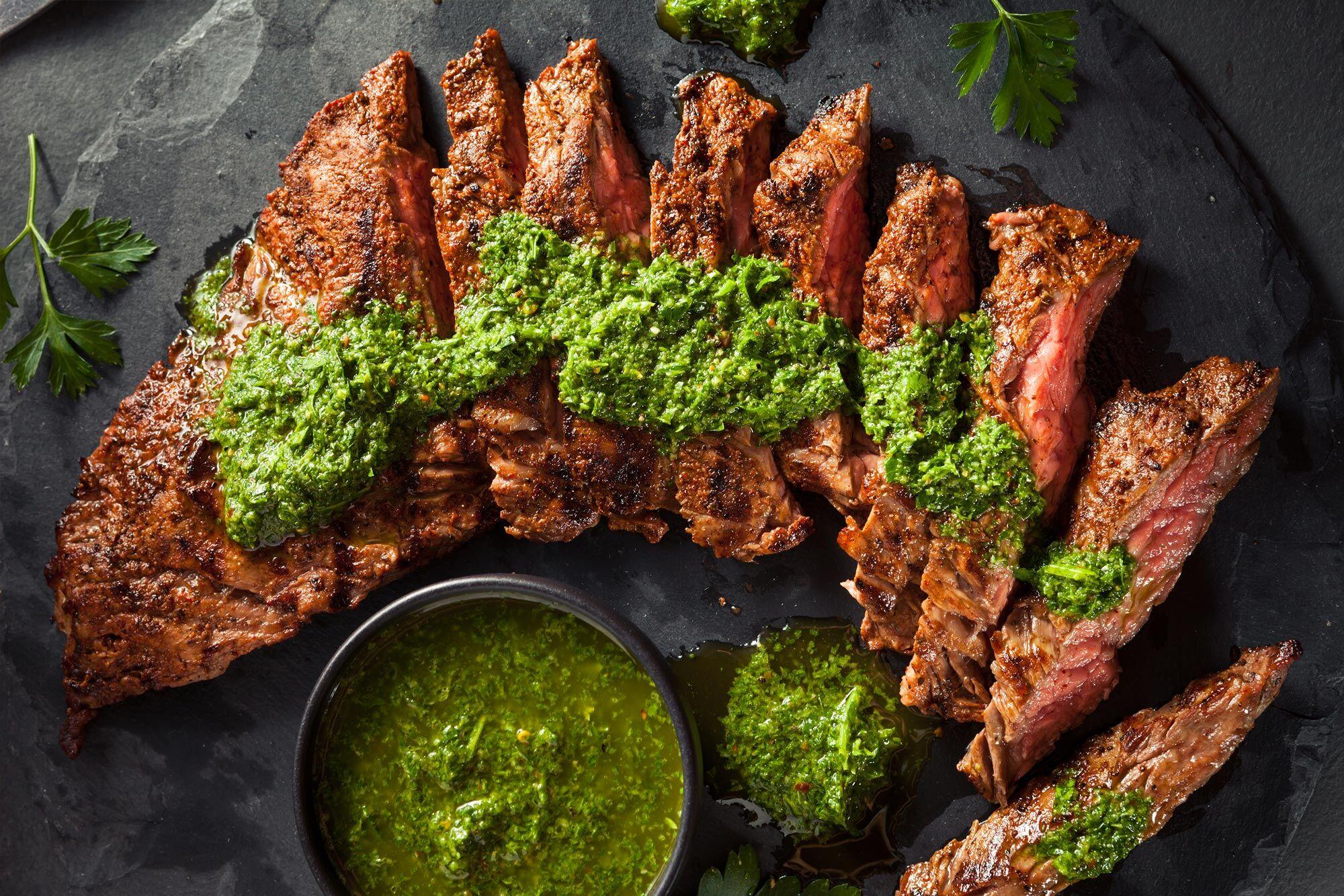 Marios Italian Deli | Picture of Chimichurri Skirt Steak