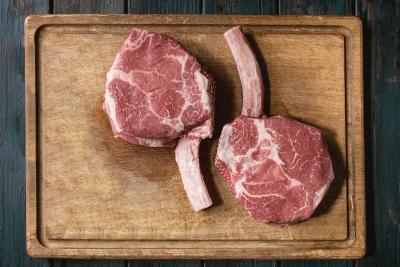 Marios Italian Deli | Coffee-Rubbed Cowboy Steak