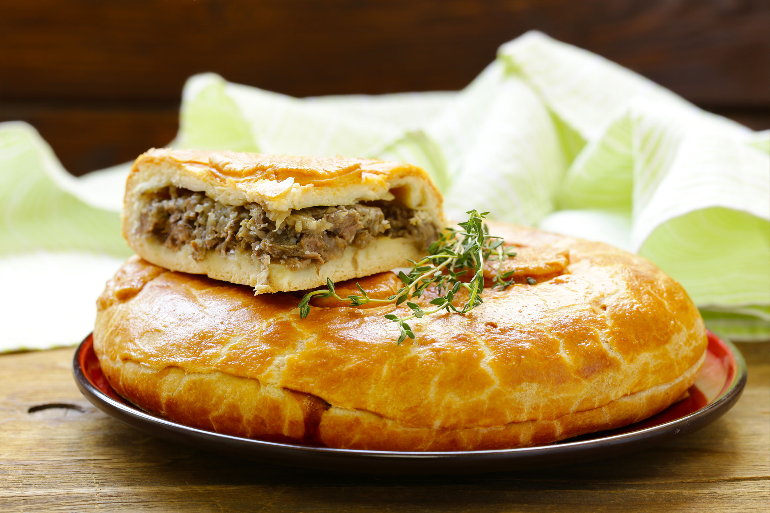 Marios Italian Deli | Picture of Ground Beef Pie
