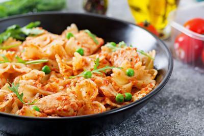 Marios Italian Deli | Picture of Chicken Alla Vodka and Farfalle