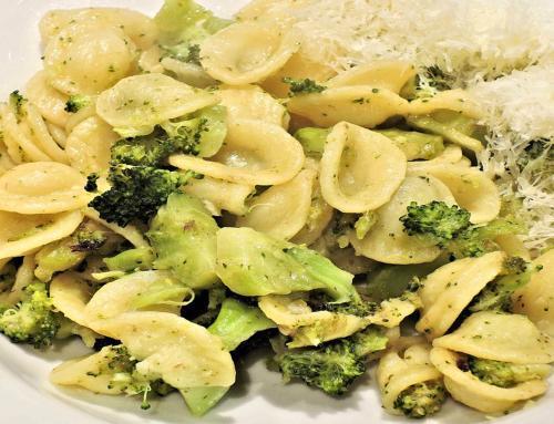 Parmesan Broccoli Orecchiette