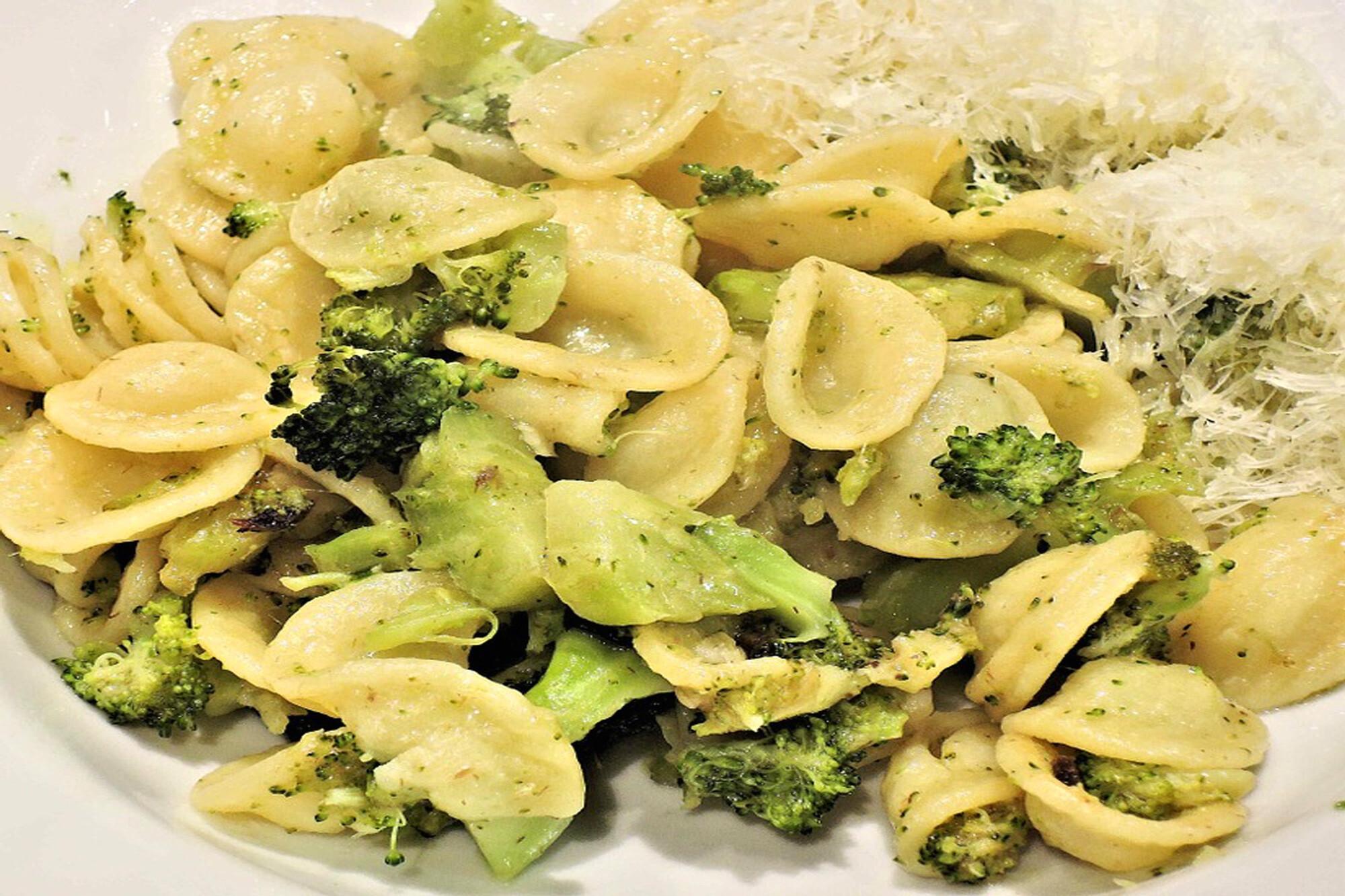 Marios Italian Deli | Picture of Parmesan Broccoli Orecchiette