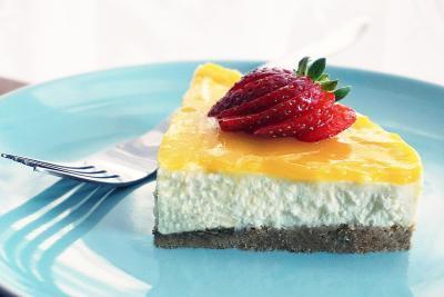 Marios Italian Deli   Picture of Limoncello Cheesecake