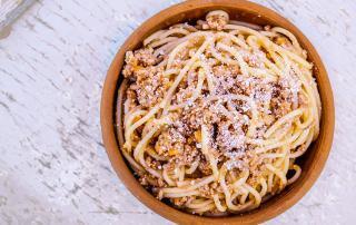 Marios Italian Deli | Picture of Spaghetti Bolognese