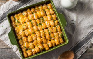 Image of Marios Meat market & Deli | Recipe of Cheesy Tater Tot Casserole
