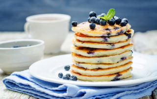 Image of Marios Meat market & Deli | Recipe of Blueberry Ricotta Pancakes