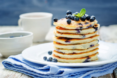 Image of Marios Meat market & Deli   Recipe of Blueberry Ricotta Pancakes
