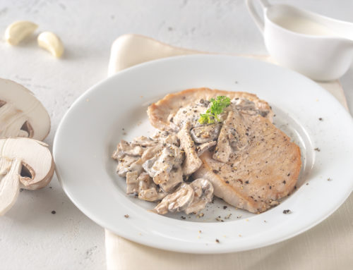 Creamy Mushroom Pork Cutlets