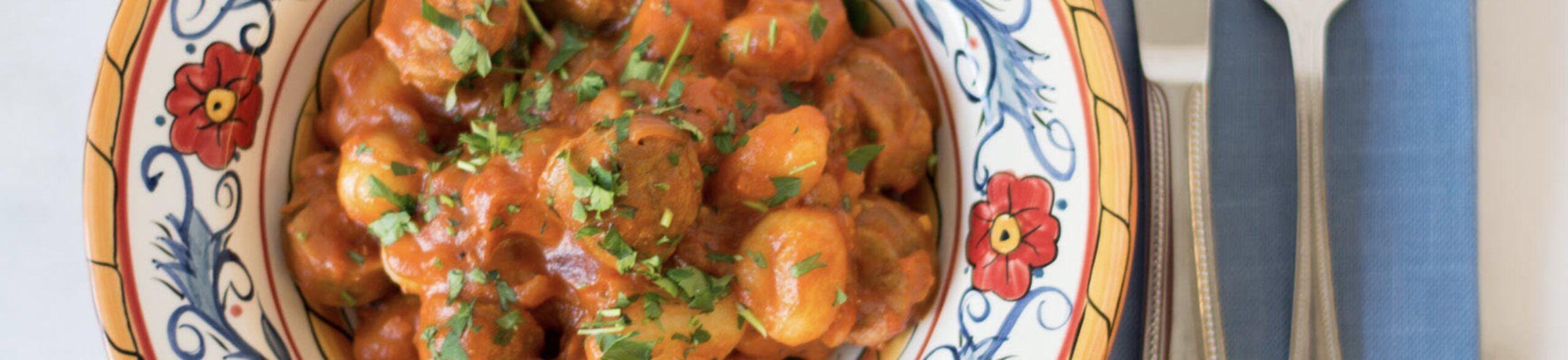 Image-Tuscan Sausage Gnocchi Recipe
