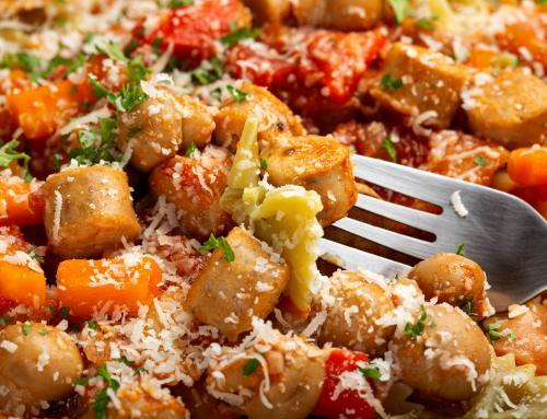 Chicken Sausage and Vegetable Farfalle