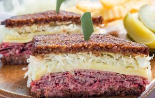 Image of Marios Meat Market & Deli | Recipe of Classic Reuben Sandwich