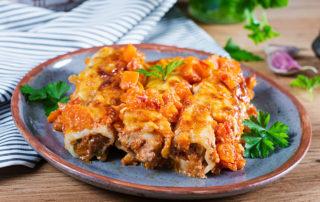 Image of Marios Meat Market & Deli | Recipe of Ground Beef and Ricotta Manicotti