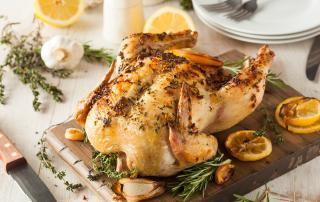 Image of Marios Meat market & Deli   Recipe of Lemon Herb Roasted Chicken