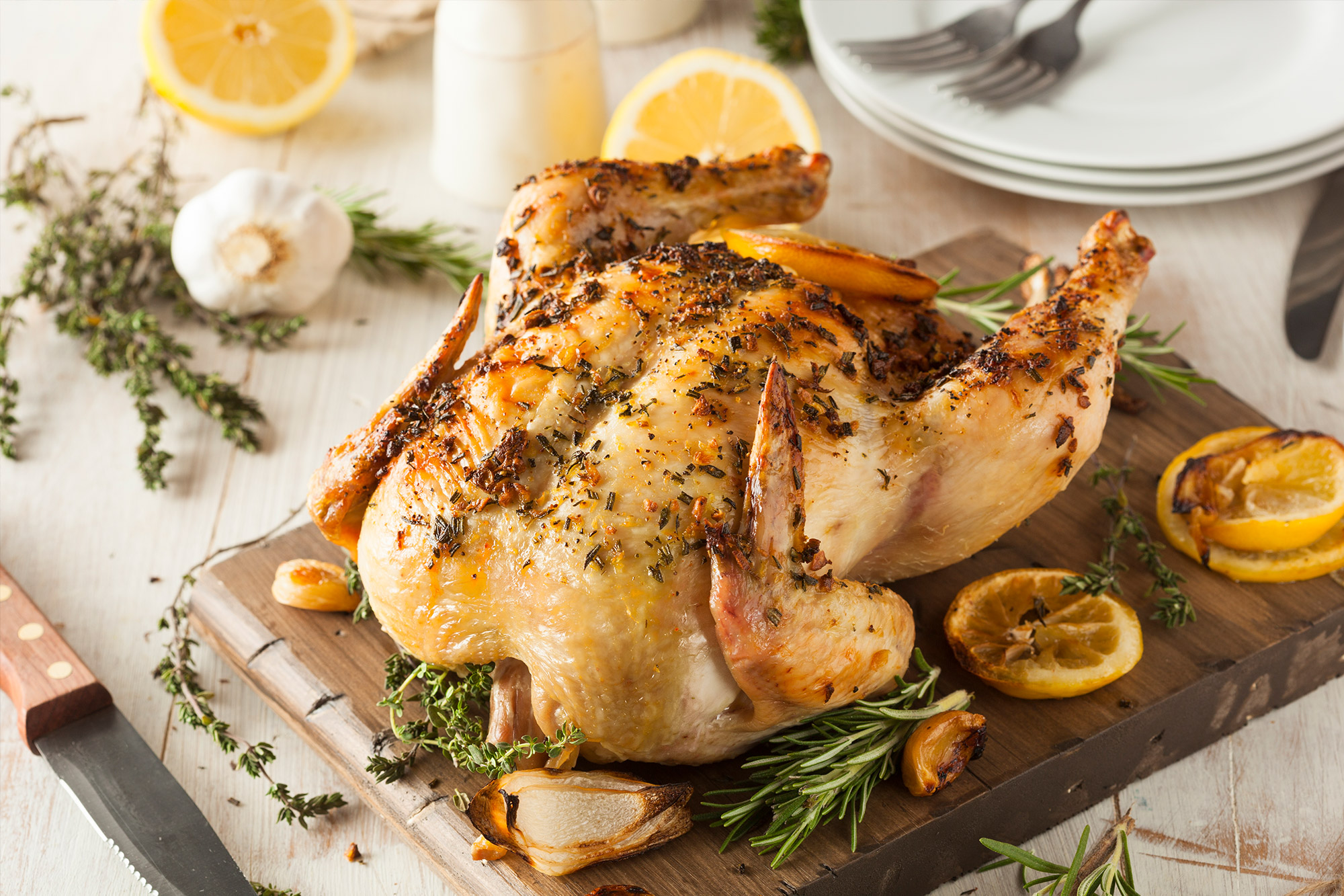 Image of Marios Meat market & Deli | Recipe of Lemon Herb Roasted Chicken