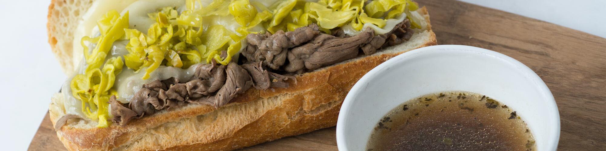 Italian Top Round Drip Sandwich Recipe