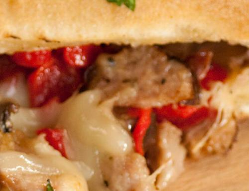 Sausage and Pepper Breakfast Stromboli Recipe