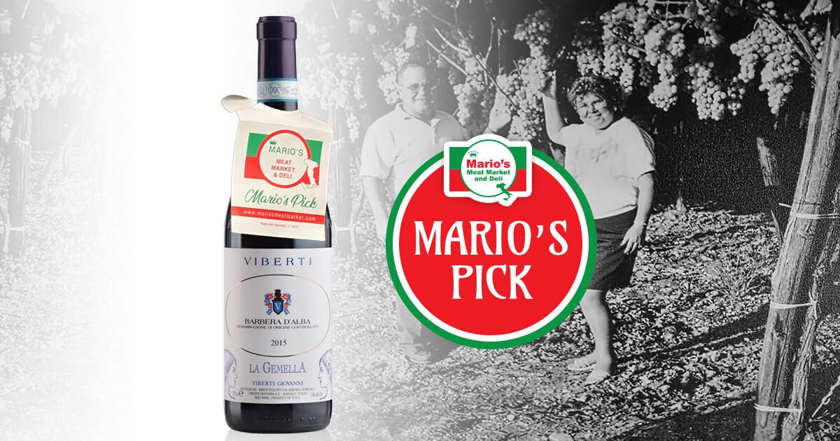 Viberti Giovanni Barbera d' Alba La Gemella Wine Blog